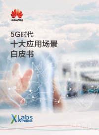 通信行业:5G时代十大应用场景白皮书