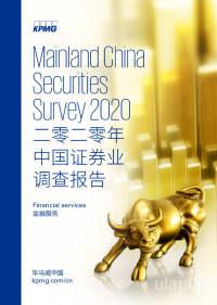 二零二零年中国证券业调查报告