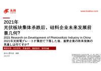 2021年光伏板块集体杀跌后,硅料企业未来发展前景几何?