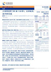 汽车行业:工信部发布344批《公告》,比亚迪电池外供长城