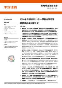 2020年年报及2021年一季报业绩综述:疫情后的盈利新分化